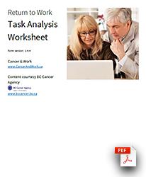 Task Analysis Worksheet preview