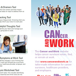 Cancer and Work Pamphlet